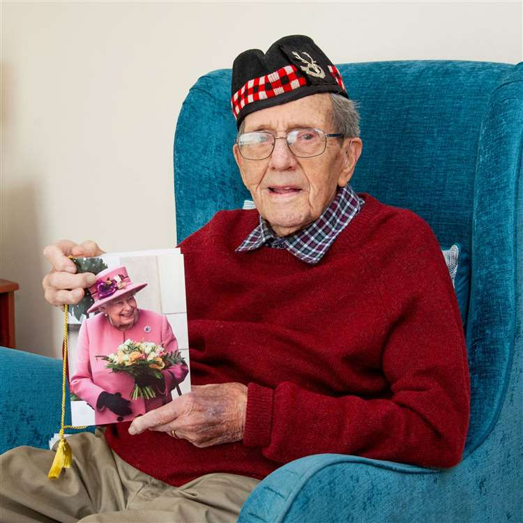 Donald Smith, late Seaforth Highlanders, of Forres on his 100th Birthday