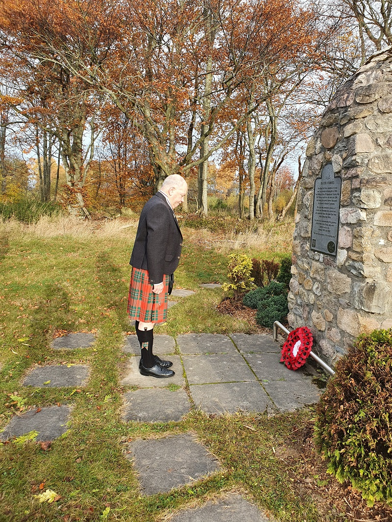 alan-james-whitley-forres remembrance sunday