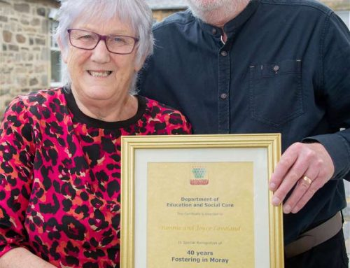 MBEs for fostering Moray Couple