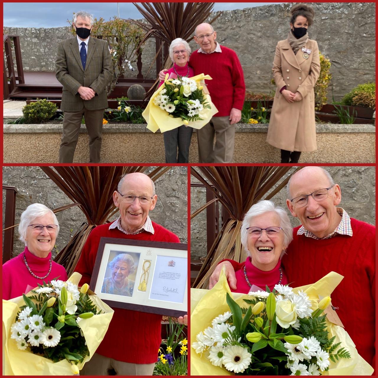 Raymond & Netta Wood's Diamond Wedding Anniversary