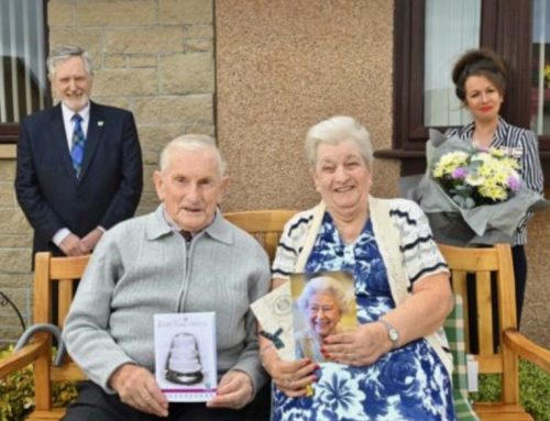 Moray couple who share their wedding anniversary with Prince William and Kate are celebrating 60 years of marriage