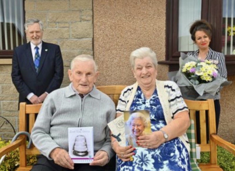 60th wedding anniversary celebrations