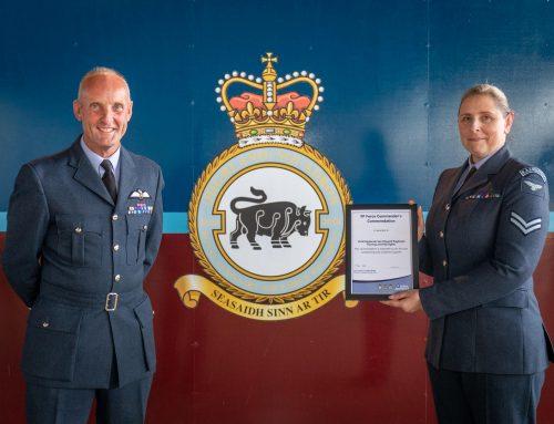 Team Award for 2622(Highland) Squadron