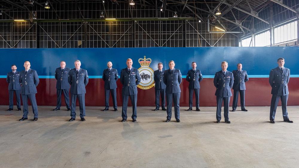 2622(Highland) Squadron RAuxAF Regt Team Award