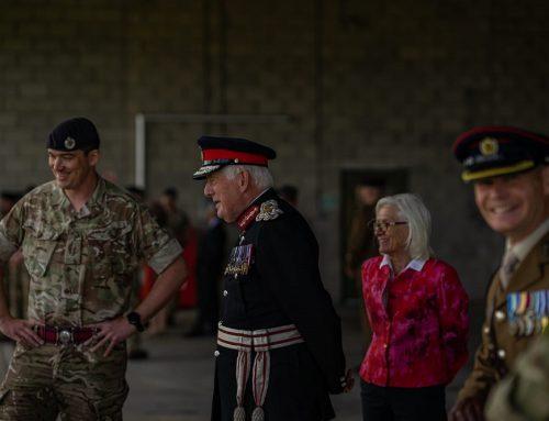Visit to 39 Engineer Regiment
