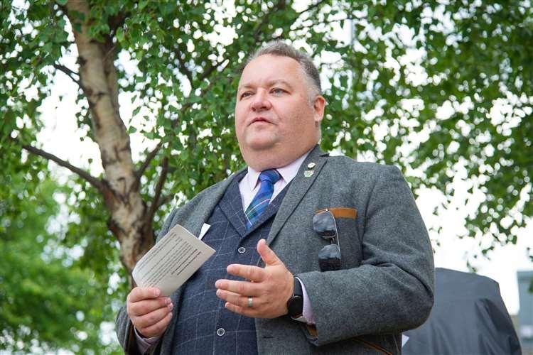 Leader of Moray Council, Cllr Graham Leadbitter