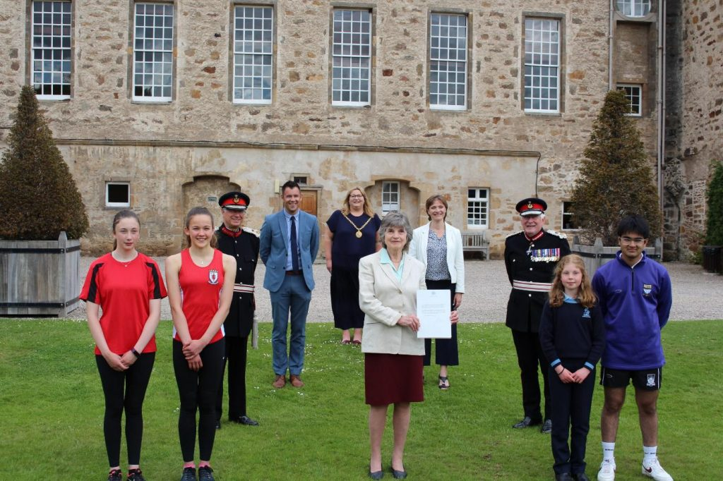 PRINCE PHILIP'S SCHOOL AWARD RE-LAUNCHED TO MARK PLATINUM JUBILEE