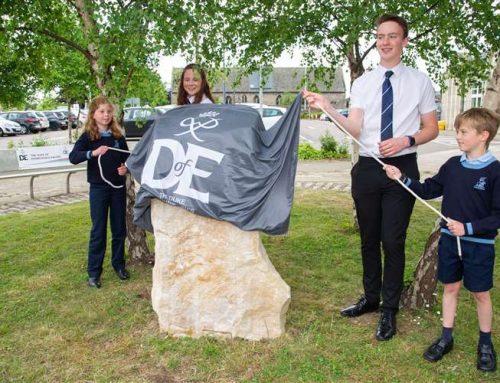 Celebrating Moray's historic role in DofE awards