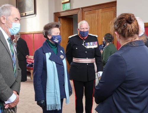 Her Royal Highness thanks Moray residents for outstanding pandemic efforts