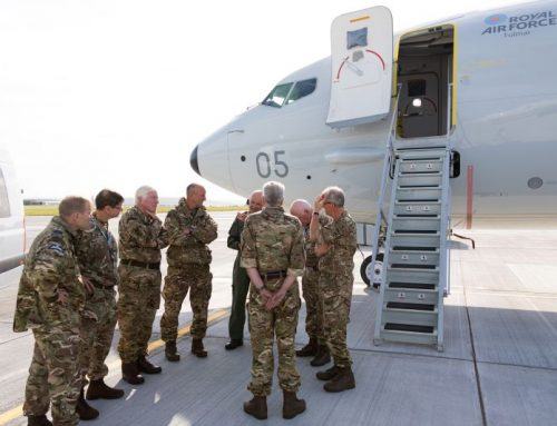RAF Reserves on exercise at Kinloss