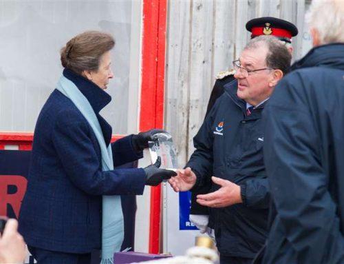 Princess Anne  presents award to MIRO